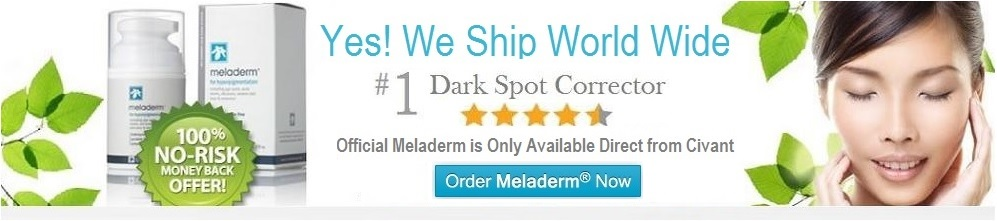 meladerm skin lightener banner
